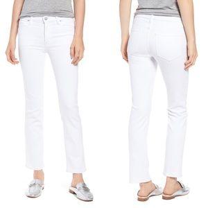 Hudson Jeans White NICO Skinny Pants